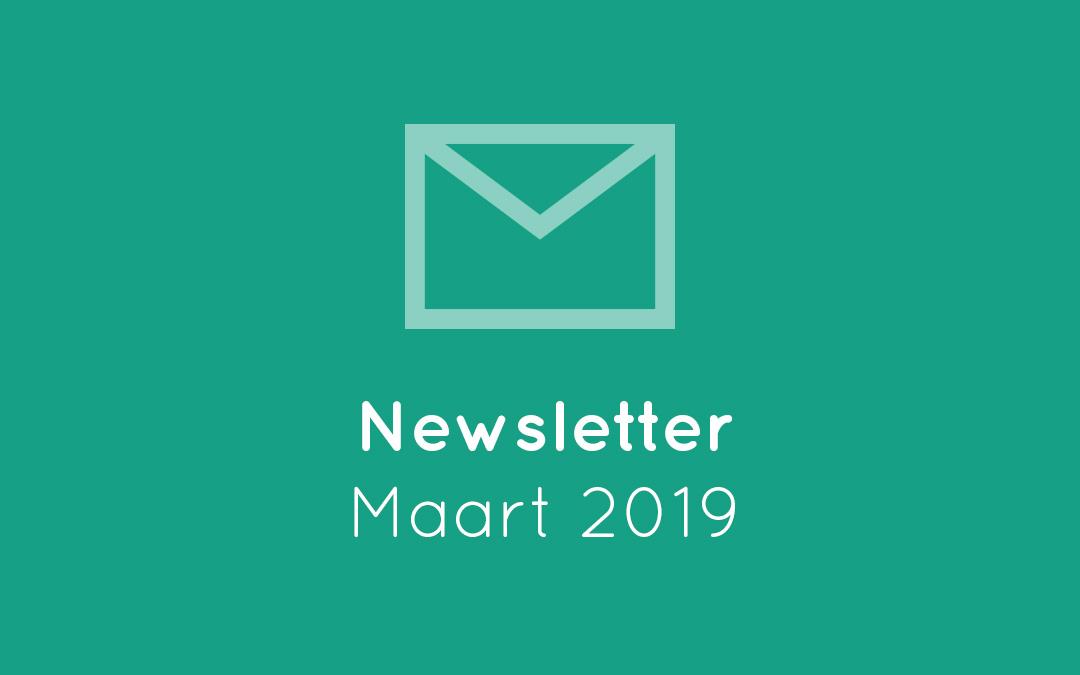 Newsletter – Maart 2019